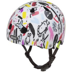 Nutcase Baby Nutty - Casque de vélo Enfant - blanc/Multicolore